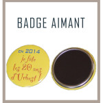 Badge aimant