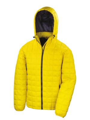 Doudoune jaune recadrée